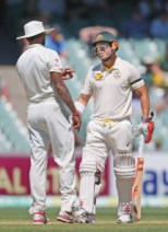 India recently got some English lessons from David Warner