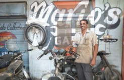 Mario Pereira is your man if your bike needs some TLC