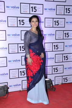 Kajol at Manish Malhotra's show