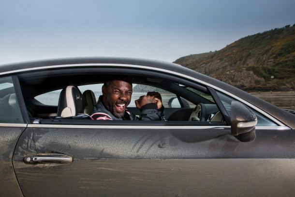 Idris Elba breaks 'Flying Mile' at legendary land speed location Pendine Sands
