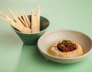 Osaka Hummus & pita