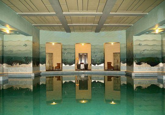 Zodiac Swimming Pool at Umaid Bhawan Palace