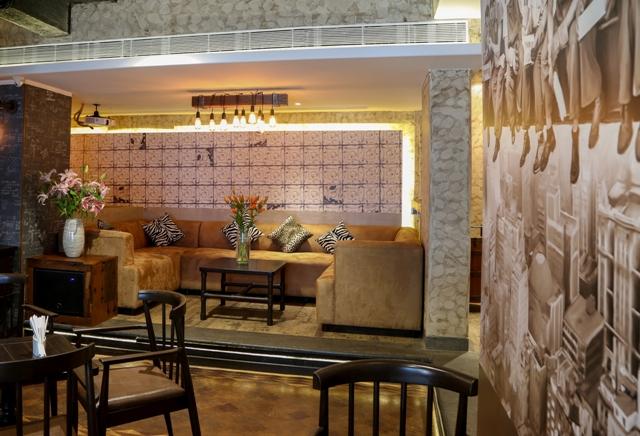 District Lounge interiors