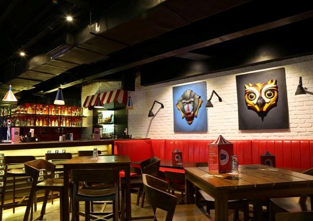 Mighty Small Bar Area
