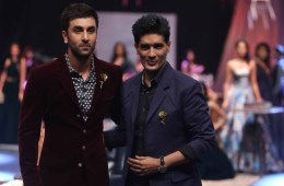 Ranbir Kapoor and Manish Malhotra at LFW WF 15
