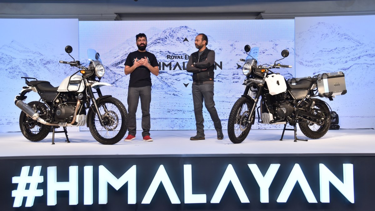 Royal Enfield launches the new Himalayan at Rs 1.55 lakh