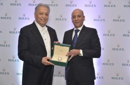 Maestro Zubin Mehta and Mr. Dorab Randeria, Managing Director, Rolex India