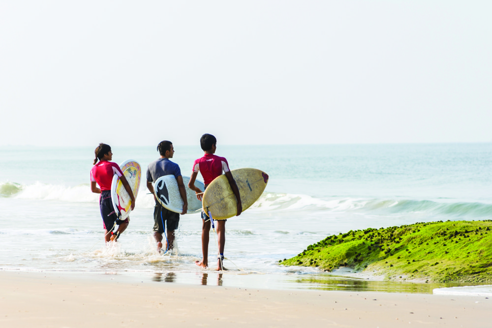 Places To Learn Surfing In India