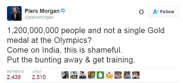 Piers Morgan on Twitter