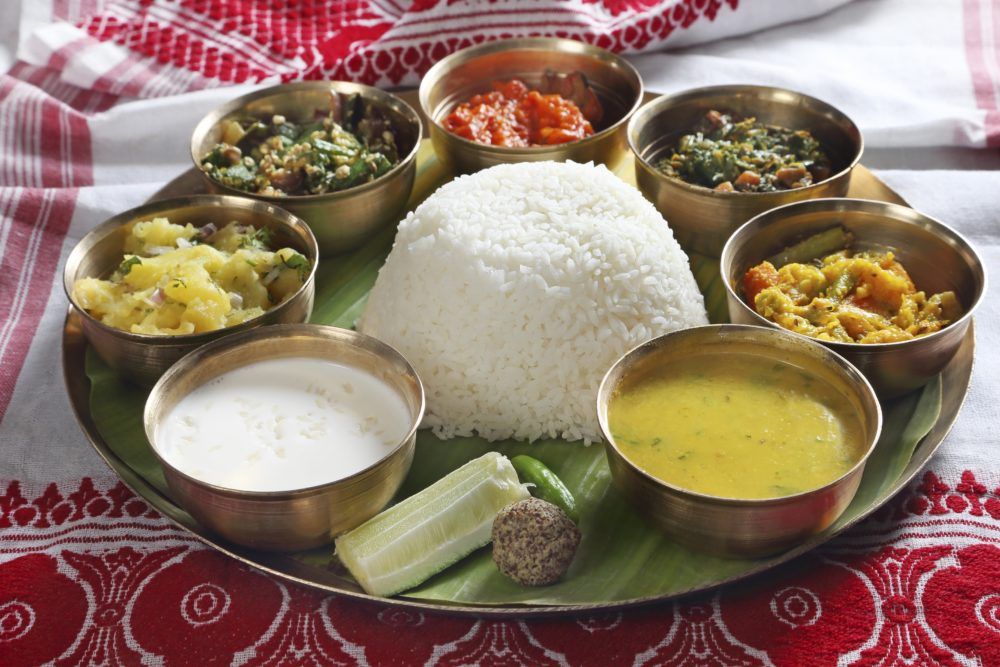 Ever Tried The Assamese Thali?