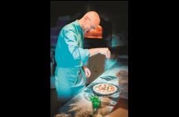 Award-winning pizza chef Giulio Adriani