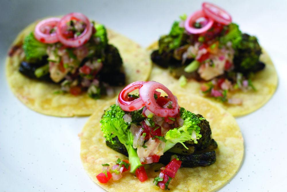 Charred Veggie Tacos