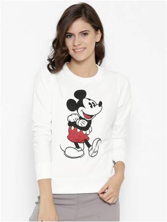 Mickey Sweatshirt from Myntra's Kook N Keech- 1