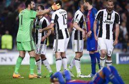 Juventus Barcelona UCL