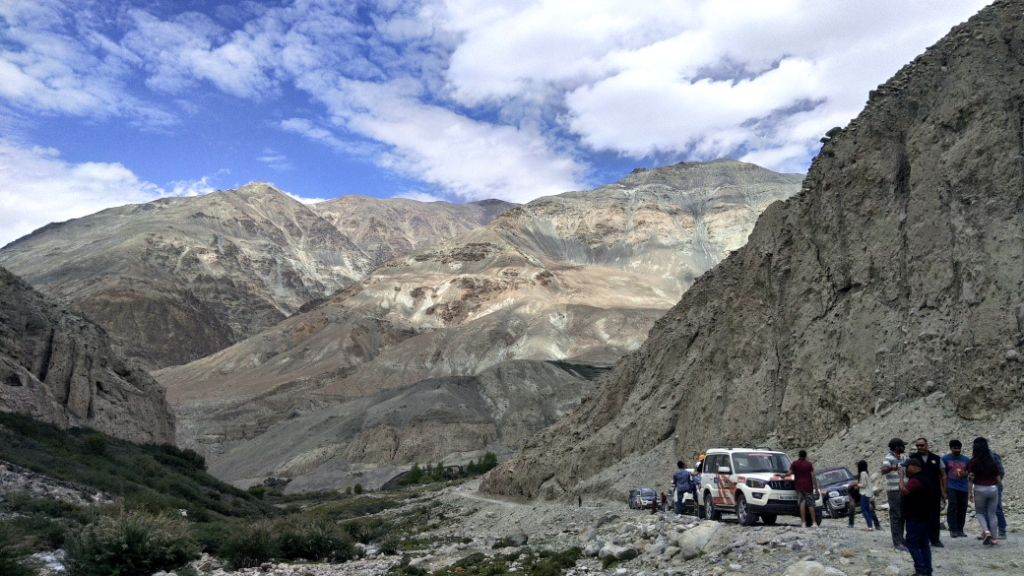 Onward Wari La Pass -- nestled in a protected wildlife zone in Ladakh