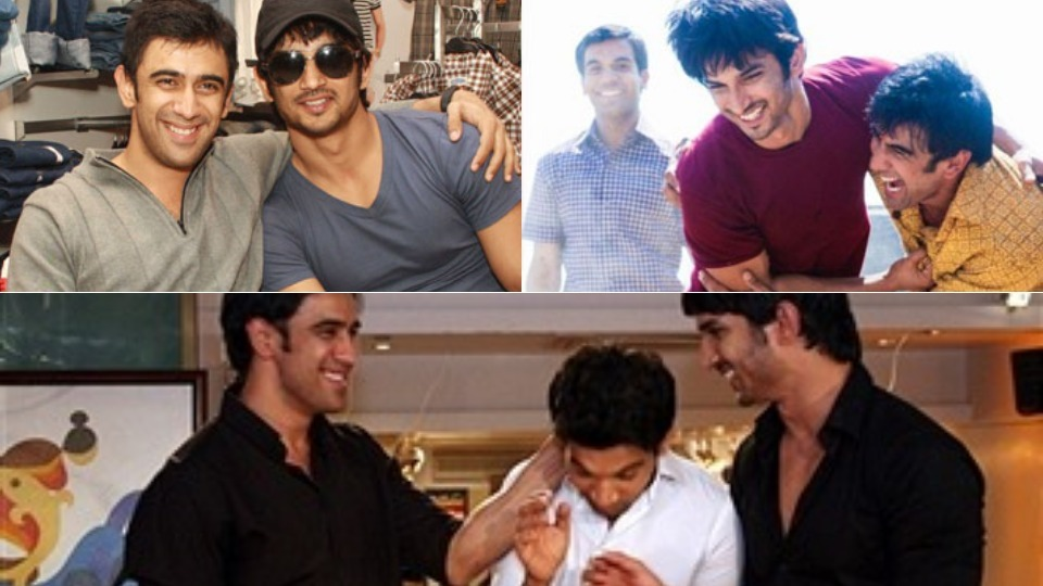 From Best Friends To Worst Foes: What's Wrong between Sushant Singh Rajput And Amit Sadh?