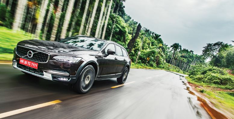 A Drive In The Clouds With Volvo V90 Cross Country