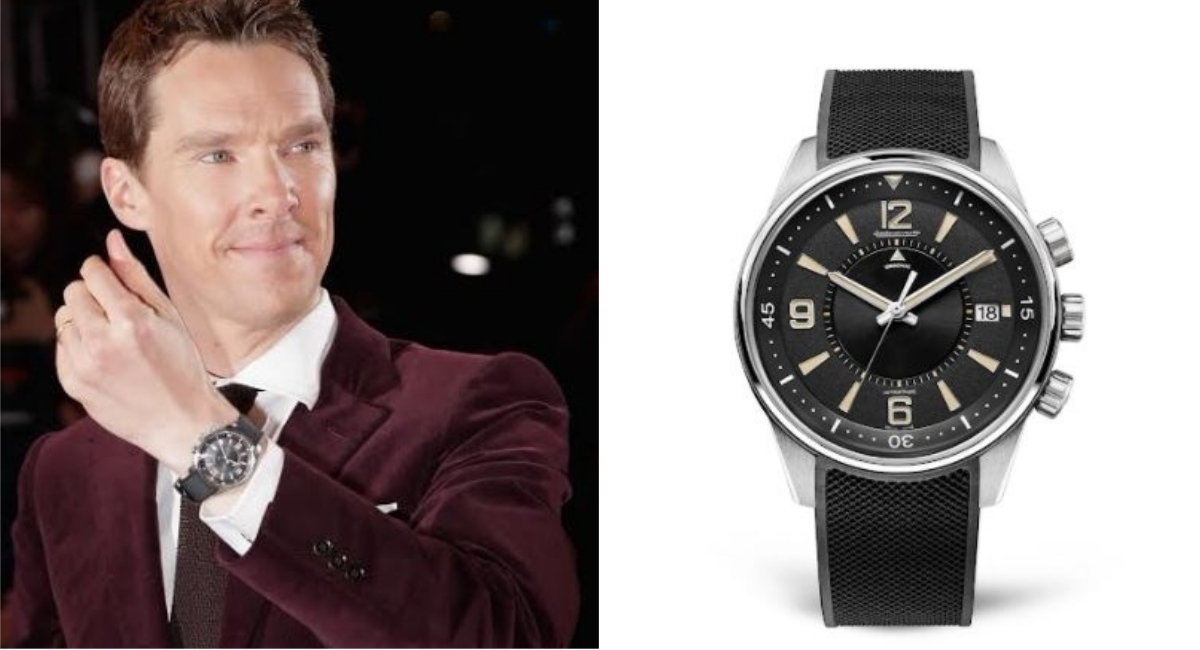 Benedict Cumberbatch Attended The Premiere Of His Latest Movie Wearing A Jaeger-LeCoultre Polaris Memovox
