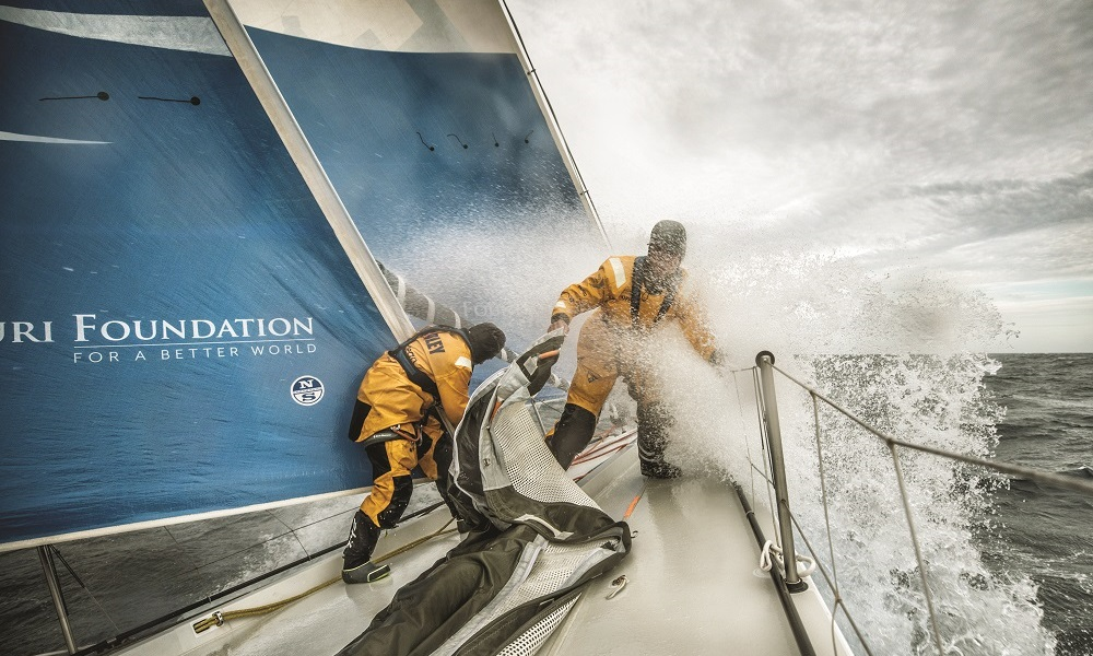 What It's Like To Be At The Volvo Ocean Race