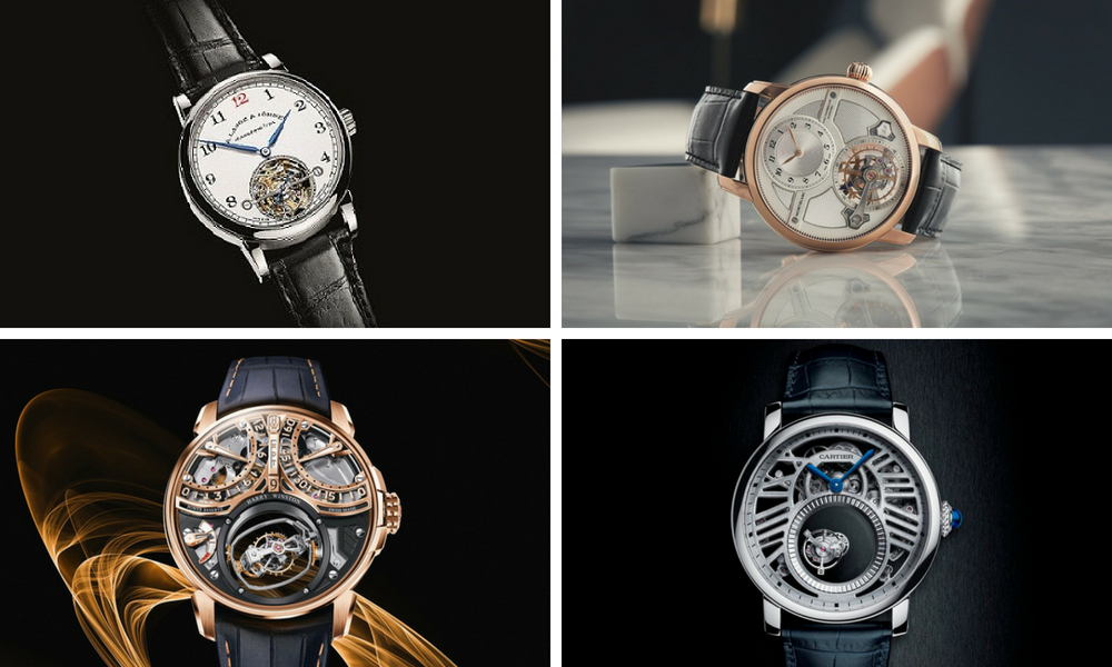 A Selection Of 2018's Best Tourbillon Watches