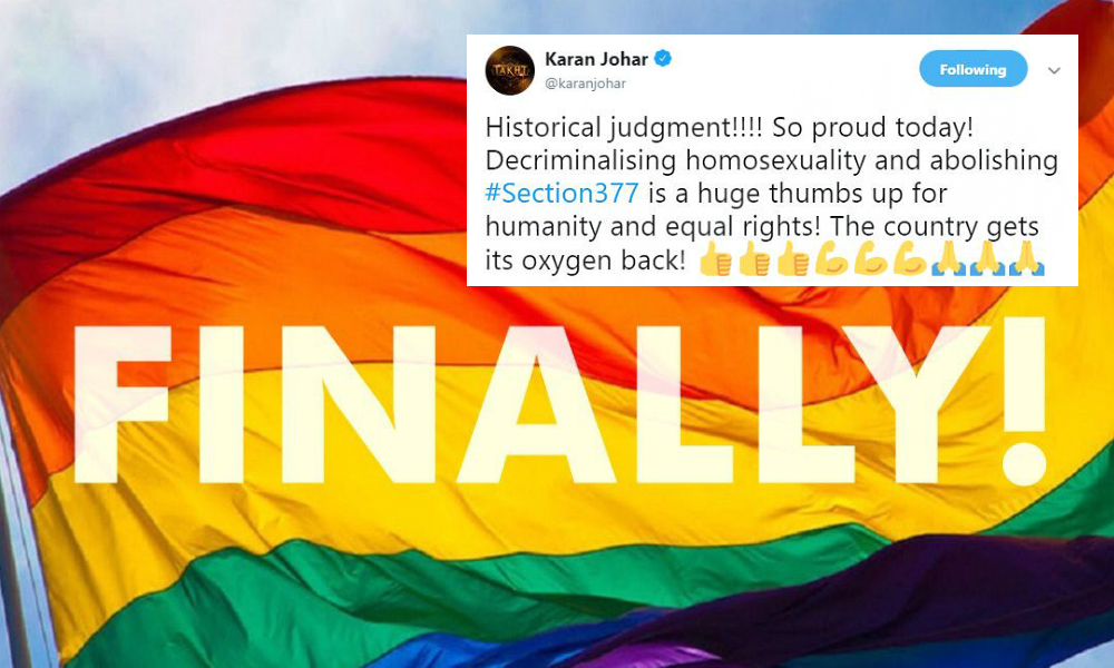 Love Is Love: Twitter Celebrates As Supreme Court Scraps Section 377