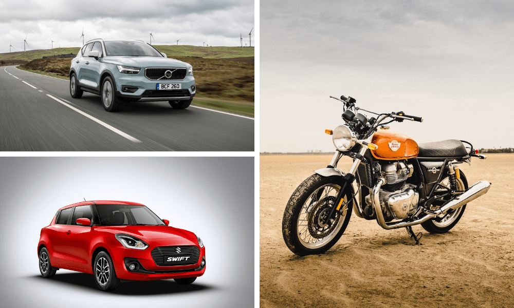 The Maruti Suzuki Swift, Royal Enfield Interceptor 650 And Volvo XC40 Win At The ICOTY/IMOTY Awards