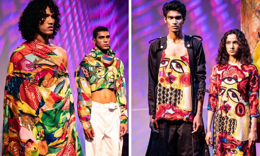 Art Meets Fashion At BOBO Calcutta And Ajay Kumar's S/S'19 Showcase