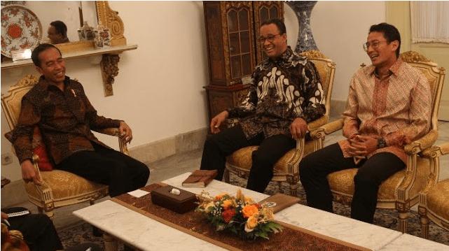 Memahami 'Perang Simbol' di Pertemuan Anies-Jokowi