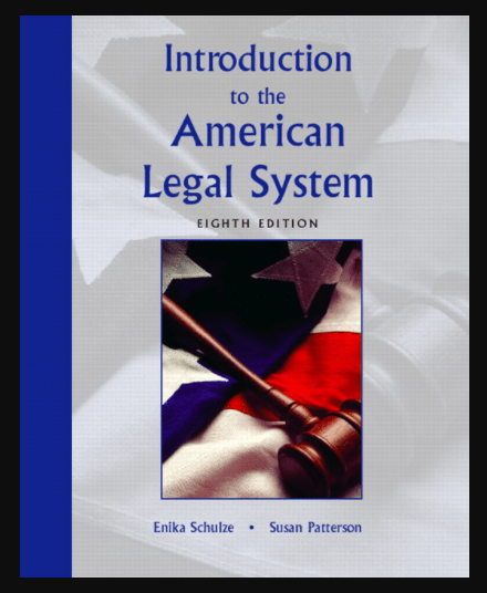 Image of Introduction to the American Legal System 8th Edition in the pdf, ebook and download