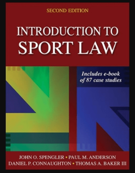 Image of Introduction to Sport Law Book 2nd Edition, pdf and download ebook by John O. Spengler PDF and Download