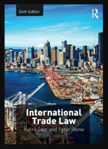 Image of International Trade Law 6th edition, pdf, ebook and download by Indira Carr