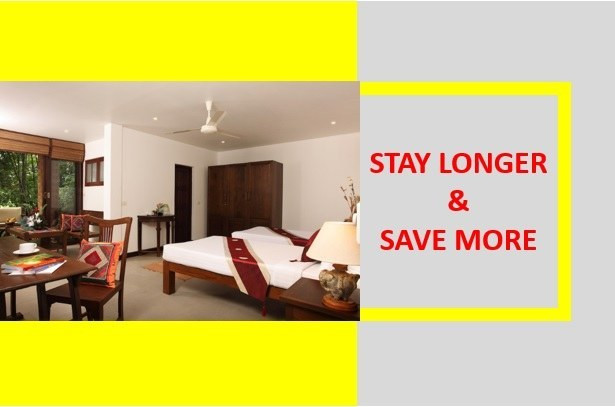 Stay Longer & Save More (15 Nights) – Bedroom