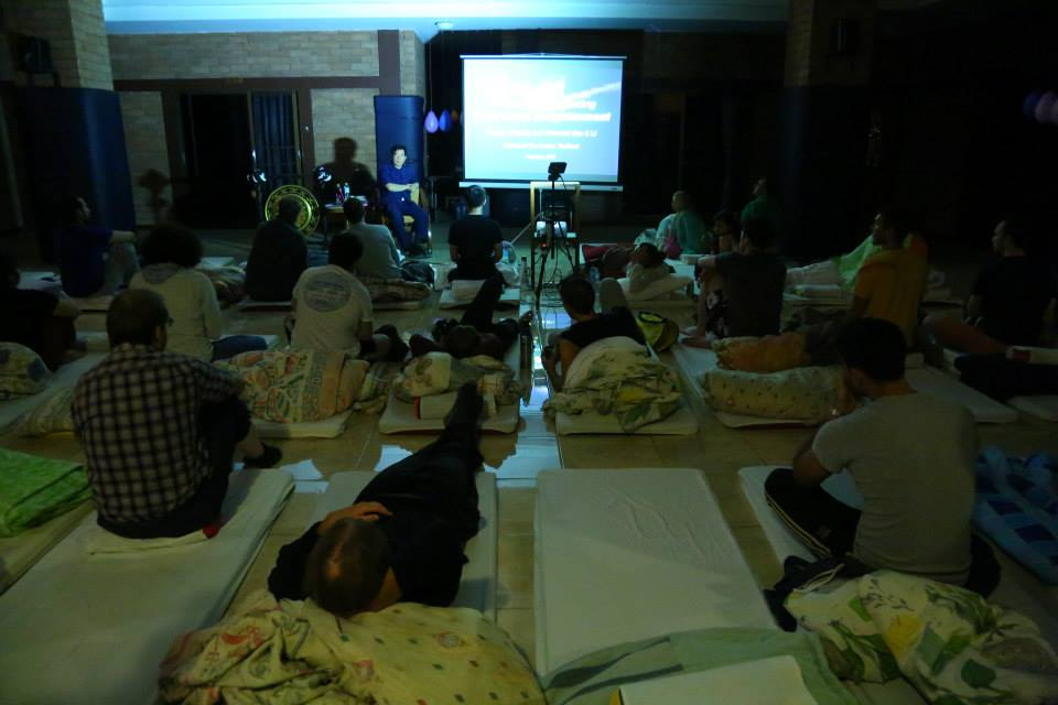 1Master Chia Darkness Retreat 2014