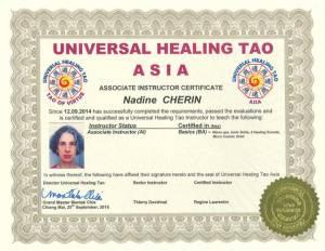 UHT Certification Copies – Nadine Cherin