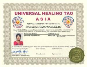 UHT Certification Copies – Ghislaine Hezard Burlot