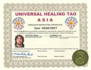 UHT Certification Copies – Gael Renevret