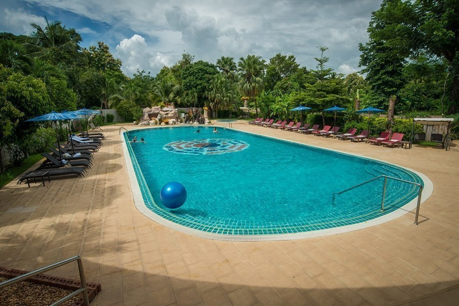 Tao Garden Health Resort and Spa – Salt Water Swimming Pool