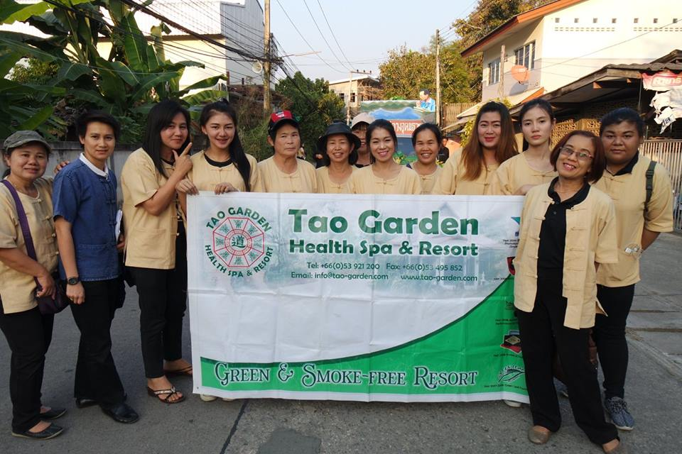 Tao Garden joined in the Annual Fair of Doi Saket