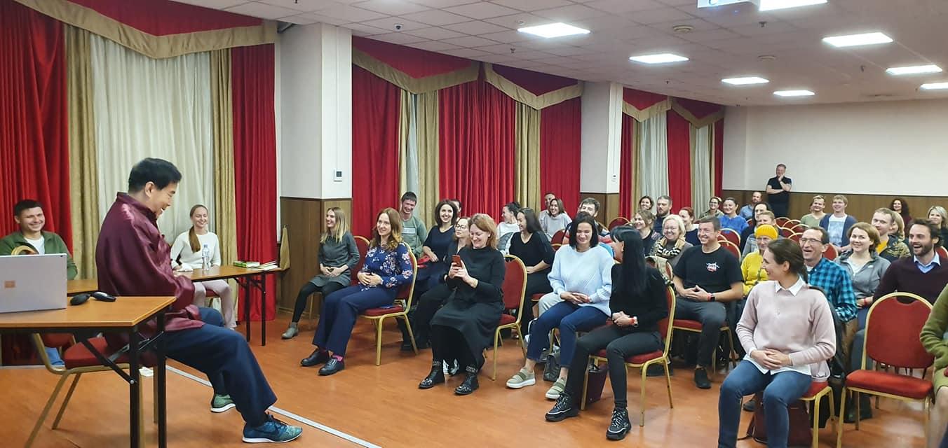 European Fall 2019 Mantak Chia in Moscow, Russia