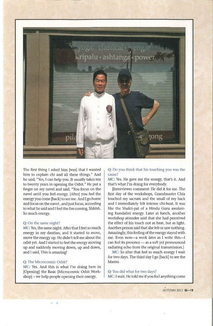 Mantak Chia Interview 3