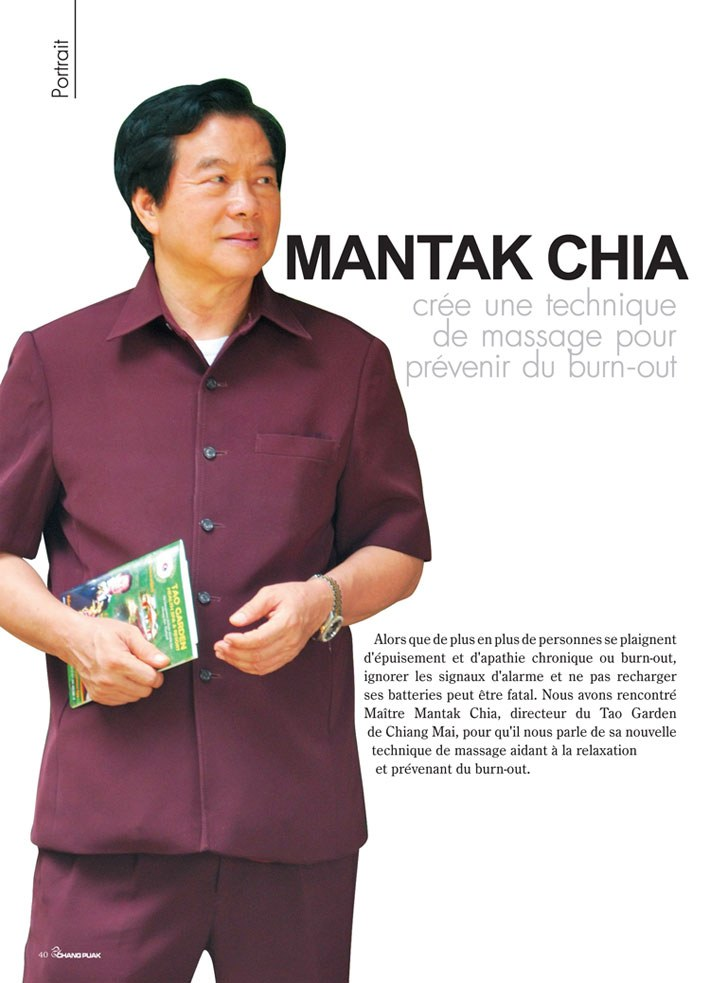 Mantak Chia Puak interview