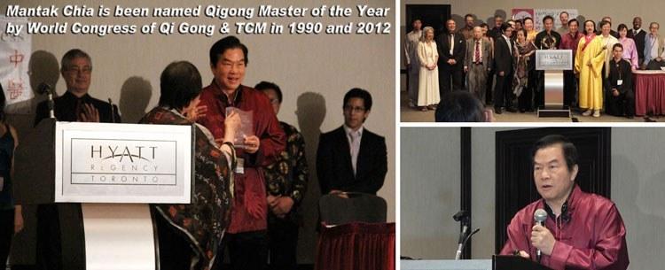 Qigong Award 2012 Mantak Chia