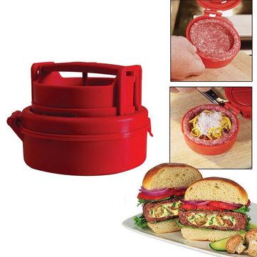 Hamburger press and food stuffer