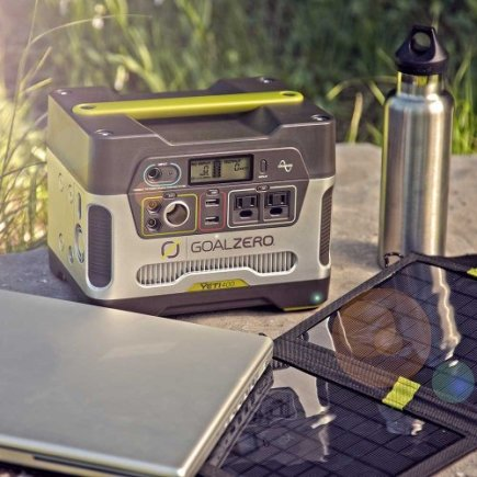 Use your Yeti 400 outside to keep you connected