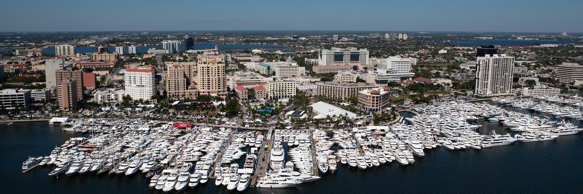 florida boat show on docks