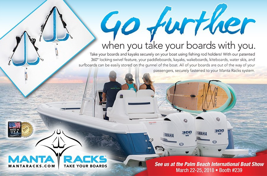 Manta Racks Palm Beach International Boat Show