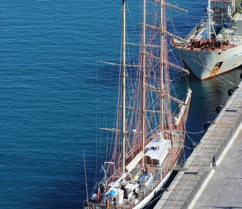 Sailing Yacht Pogoria, Port of Nice, France
