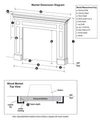 Mantel Specifications | Mantel Dimensions