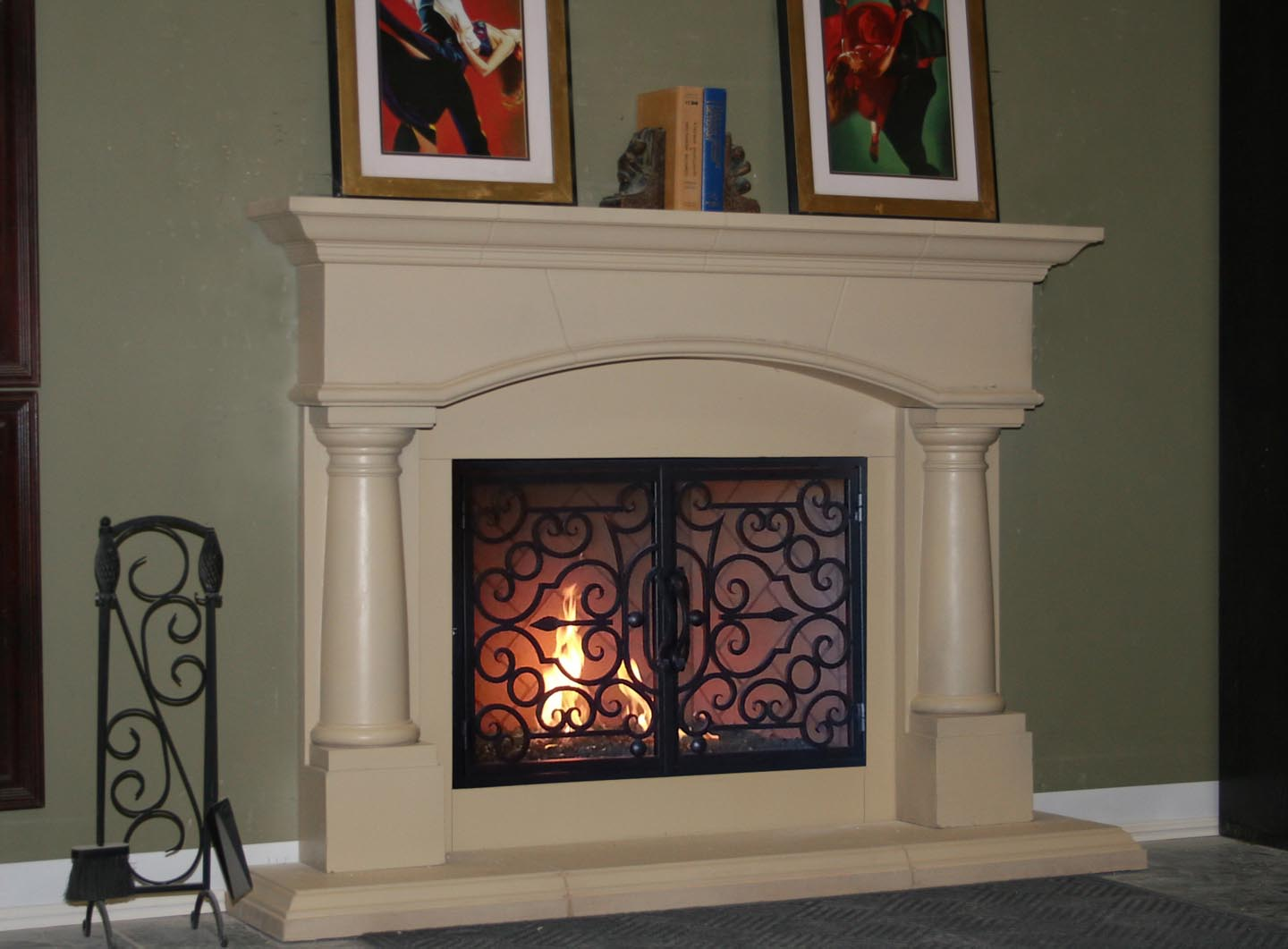 FM008 Fireplace Mantels from Mantel Depot in San Diego