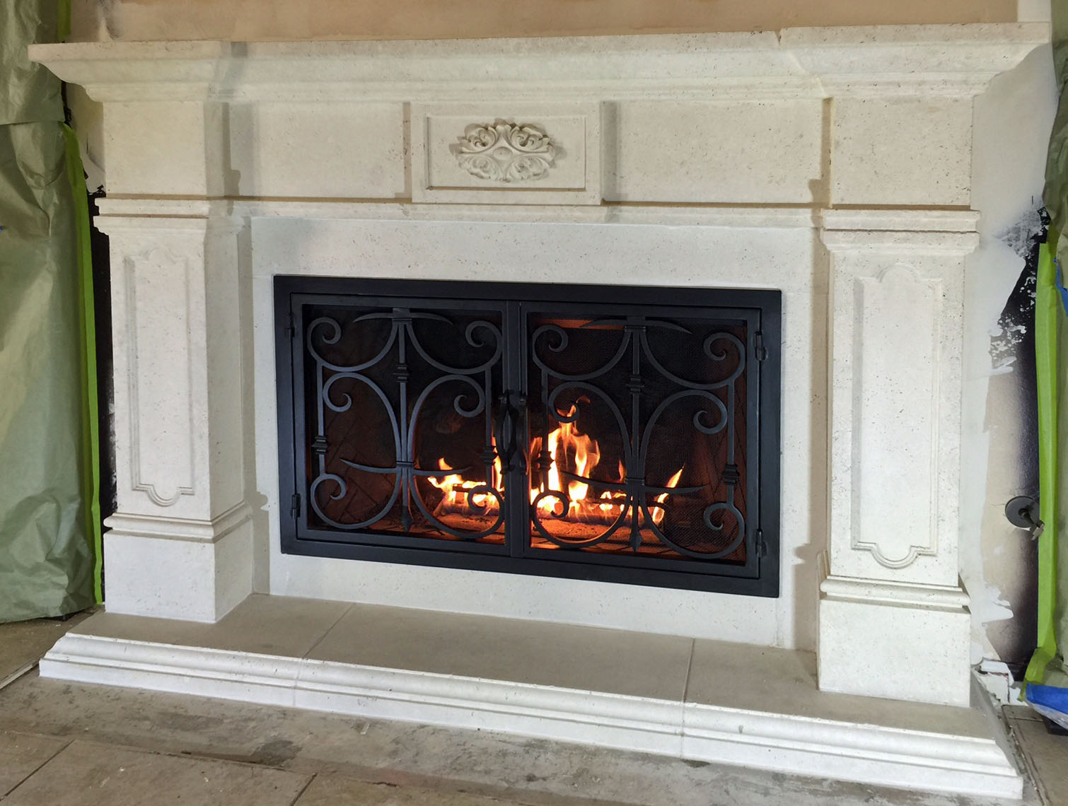 Mt231 Fireplace Mantels Fireplace Surrounds Iron